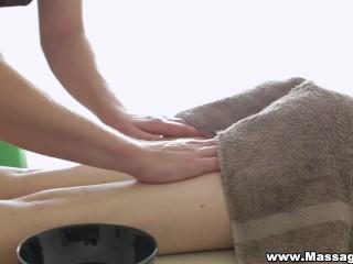 Massage-X - Anna Taylor - Anal on massage table