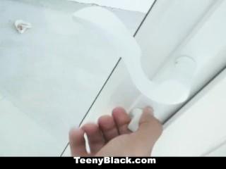 TeenyBlack- Hot Ebony Teen Fucked On Anniversary
