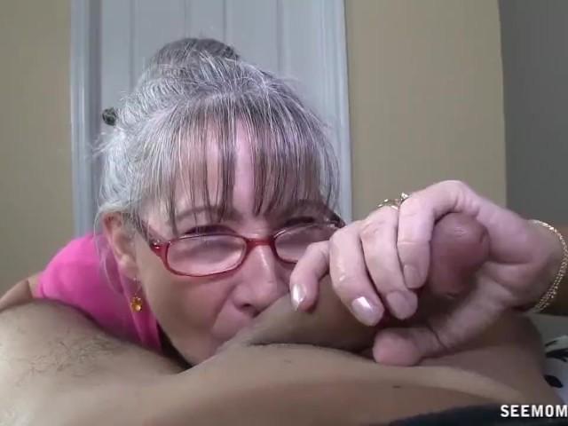 Bedste granny blowjob