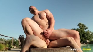 NextDoorStudios Markie More Breaks in Horny First Timer