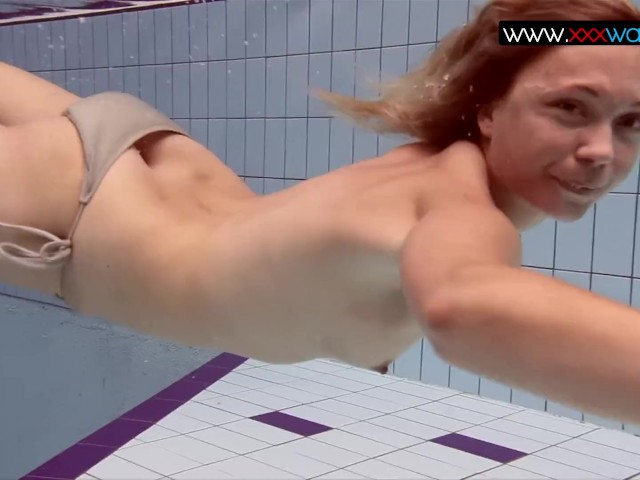 underwater big boobs