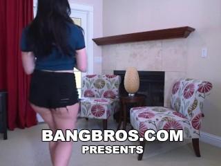 BANGBROS - Big Black Cock for Mandy Muse's Plump Big Butt on Ass Parade!