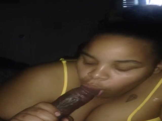 Amateur Black Dick Sucking