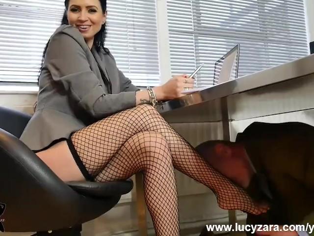 Sexy Nylon Feet Tickled