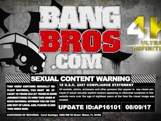 BANGBROS - Horny Brother Slams Step Sister Jynx Maze's Juicy Pussy