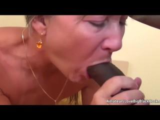 Interracial/black cock granny grey enjoys