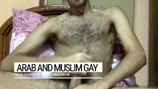 Qatar Arab gay kingdom of cum. Wazir's dick is a foutain of male juice.