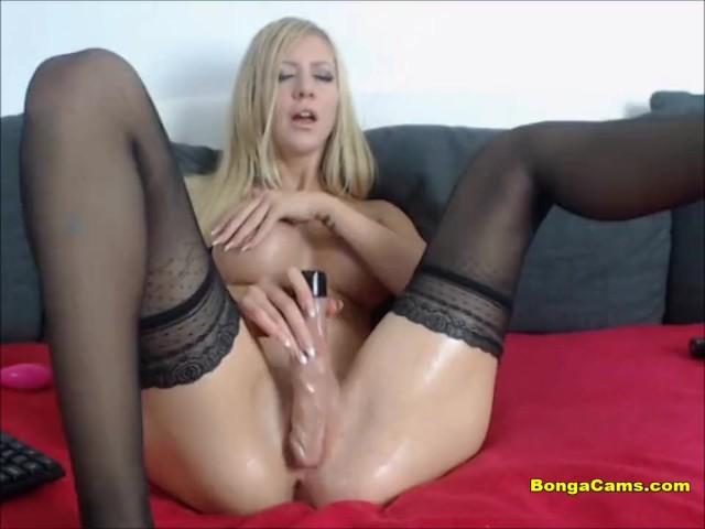 Big Tit Babes Dildo Solo