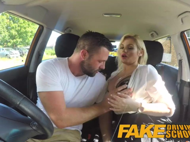 Fake Driving Test Big Tits