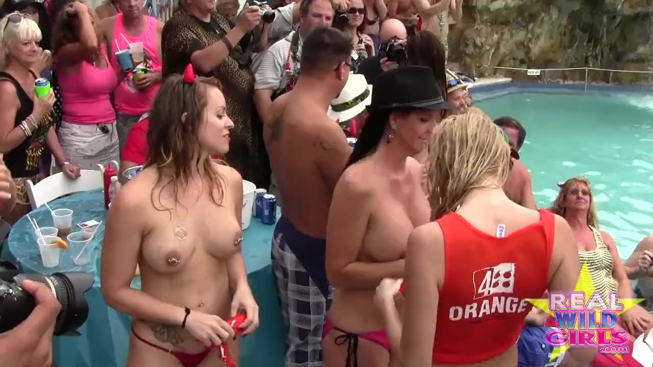 Big tits long hair