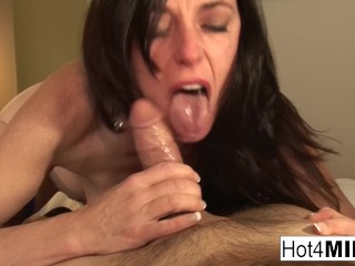 Super sexy Karen Kougar gets a cock in her ass