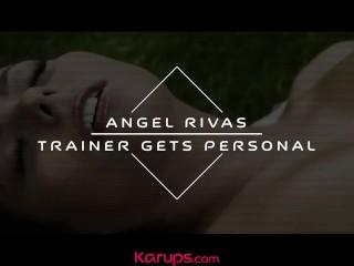Karups - Angel Rivas Fucks Her Personal Trainer