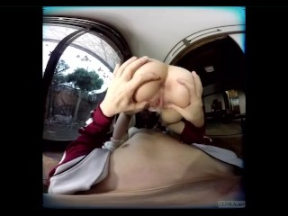 japanese VR by means of ZENRA Yukari Miyazawa Butt in Your Face