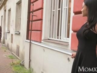MOM Horny big tits Thai MILF gives young Russian teen hottie big orgasm