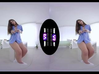 TmwVRnet.com - Coco Kiss - Adorable Nurse with Long Leg