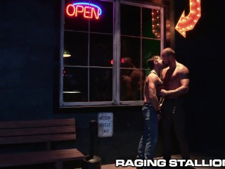 Smoking Hot Muscle Daddy gets his Cock in Tight Little Hole