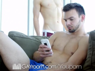 GayRoom Ass pounding with Alex Tanner and Jason Maddox