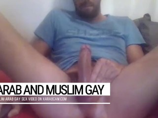 The Arab bay lewdest dick of the Middle East. Sex-mad Ramazan jerks off ten times a day