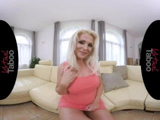 VIRTUAL TABOO - Enjoy Your Hot Stepmother While She Is Playing With Herself.mp4