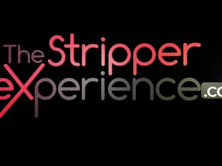 The Stripper Experience - Baily Blue strip down and get fucked by a moster cock