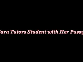 Busty Tutor Sara Jay Fucks Her Big Dick Student for Extra Credit!