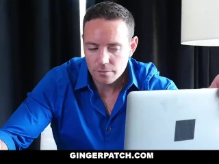 GingerPatch - Short Haired Ginger Fucked By Her Stepdad