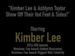 Kimber Lee & Ashlynn Taylor Show Off Their Hot Feet & Soles!