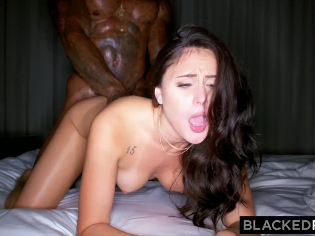 She Loves Big White Cock