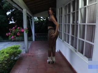 Spicy Latina Shemale Masturbation - Fetish Shemale