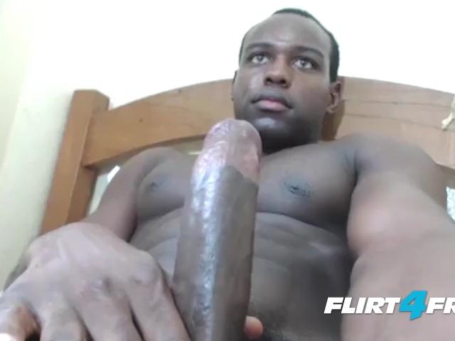 Free ebony gay man