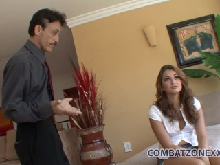 Pervy old dude wants his stepdaughter's hot teen body