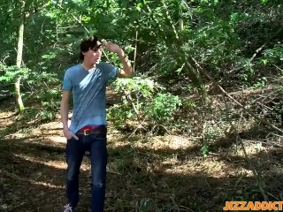 Jase Bionx and Rad Matthews get really horny in the woods