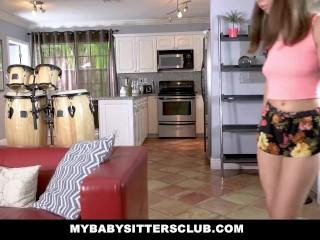 MyBabySittersClub - Hot BabySitter Fucks Her Boss