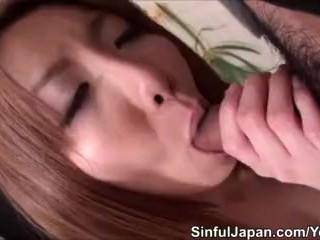 Jap Babe Rin Yazawa Blowjobs And Fucking
