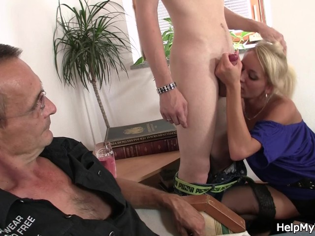 Young Guy Fucks Old Lady