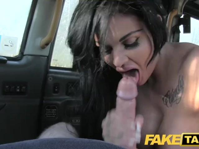 Lesbian Fake Taxi Strap