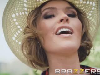Brazzers - Cute Cowgirl Krissy Lynn loves ass fucking