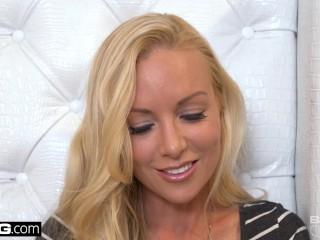 Kayden Kross is a blonde fantasy sex pot