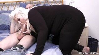 Blonde bbw cheating with married man