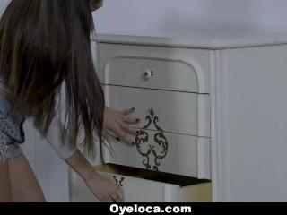 OyeLoca - Latina Teen Fucks Roommates BF
