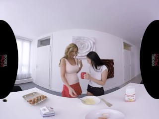 VIRTUAL TABOO - Cooking Lesson With Young Daughter And Horny Mother