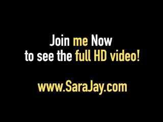 Sara Jay Bangs A Big Black Dick That Cums On Her Pink Pussy!
