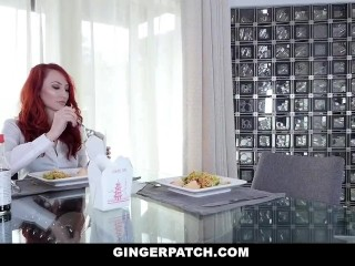 Teamskeet/kendra/stepmom redhead and daughter