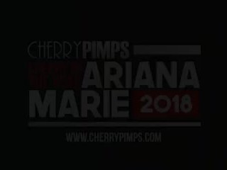 Cherry of the Year Ariana Marie Gets Wet For You in the Bath
