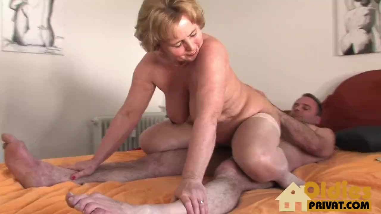 Mom sucking dick at party