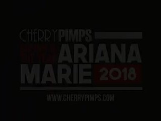 Cherry of the Year Ariana Marie Plays with Her Glass Toy