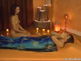 Lay Back And Enjoy The Handjob Massage