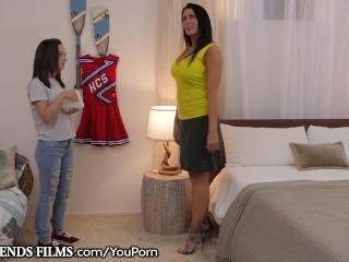 Teen Cheerleader Lily Jordan Seduced by MILF Coach