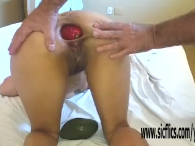 Extreme Huge Anal Insertion