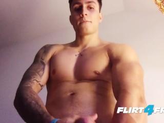 Flirt4free/his buff uncut latino hard